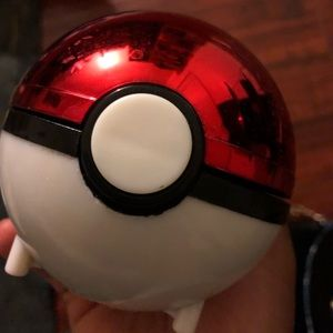 Pokémon ball with certificate of authenticity
